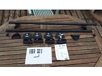 Complete Thule Roof Bar Kit for Ford Focus 05-07