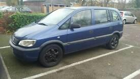Vauxhall Zafira 16v Club 2002