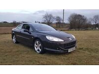 2007PEUGEOT 407 GT COUPE..2.7 TWIN TURBO DIESEL AUTOMATIC..MOTED TO MAY 2018..POSSIBLE PART EXCHANGE