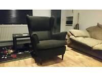 2 x Very Black Armchairs