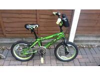 Green 16inch bike