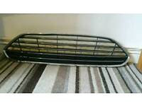 Ford fiesta mk 7 2013 onwards front crome grill