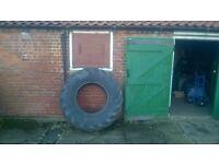 Equine Equestrian Large Hay Feeder Tyres