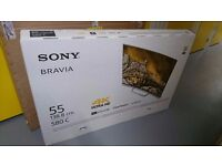 "Sony 55"" Curved 4K TV For Sale £800 - NEW SEALED"