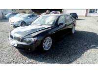 08 Auto BMW 7 Series3.0 Diesel 4 door Full Leather interior Nice car can Be seen ANYTIME