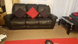 LEATHER RECLINING SOFAS FOR SALE