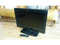 26inch Phillips Flat Screen TV Built in Freeview