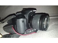 Canon 600d and 18-55mm lens