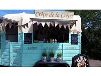 Mobile Creperie, Converted Vintage Horse Box - Mobile Catering - Crepe de la Crepe, Essex, London