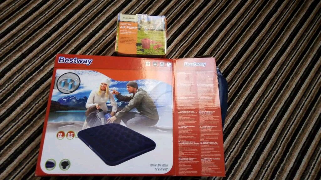 Bestway Double Inflatable Mattress Brand New In Bransholme East