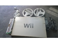 Wii console and games bundle