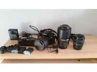 Nikon D7200 + lenses and accessories