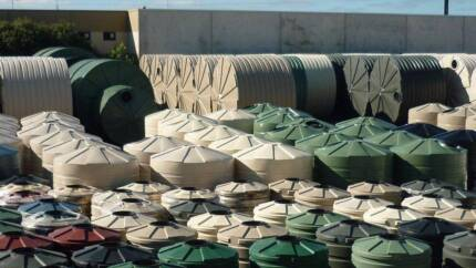 SALE! 15,000LT Poly Water Tanks, Shed, Farm, Rain, Home, Pumps Seaford Morphett Vale Area Preview
