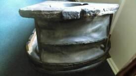 Blacksmith large bellows wine rack