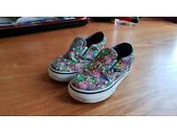Vans trainers size 7 kids childs