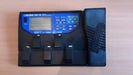 BOSS ME-30 Guitar Multiple Effects Pedal - AC Adaptor   16 effects   use up to 9 eeffects at once