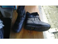 Mens ice gripper snow boots