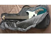 Corsair Greg Bennett Bass Guitar With Padded Carrier Case