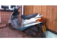 SYM 125 AUTOMATIC SCOOT 2003 LOW MILES GOOD CONDITION