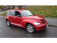 Chrysler PT Cruiser 2004 petrol manual 11 months mot low mileage