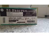 Ed Sheeran ticket