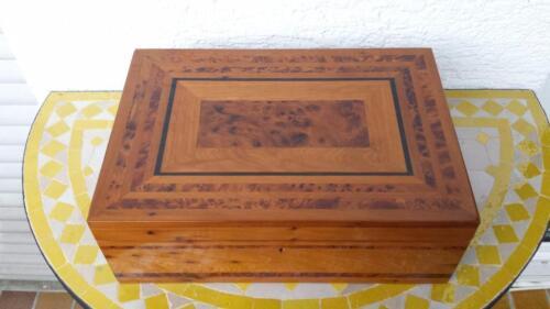 Thuja Holz Verwendung orientalischer thuja holz schatulle aus essaouir marokko in