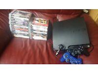 PS3 slimline and games bundle