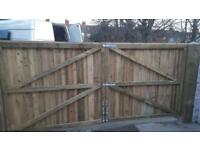 Driveway gates wooden gates timber gate