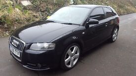 Audi A3 20 TDI sline for sale it in good condition