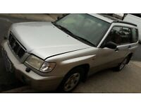 Subaru, FORESTER, Estate, 2001, Manual, 1994 (cc), 5 doors