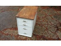 Vintage Painted Shabby Chic Drawers Storage COLLECT LEWES