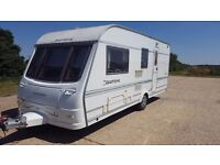 2005 Coachman Pastiche 520 2 Berth Touring Caravan with porch awning! Excellent Condition!