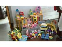 Peppa pig.. Massive toy bundle