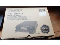 yaesu ft 857d 3 weeks old