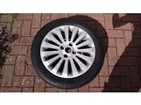 Ford Fiesta Titanium Mk7/8/9 alloy wheels. 4x, lots of tread, great condition.