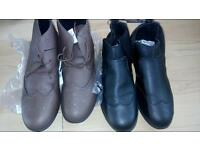 Men's boots size 11 £7.50 each pair or £12 the both