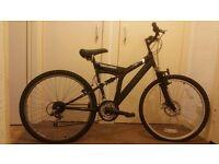 Mountain Bike for Sale, 18 speed Dual Suspension Harlem Yankee Superbike