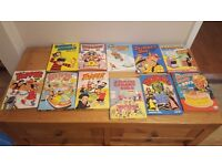 Asst boys comic annuals
