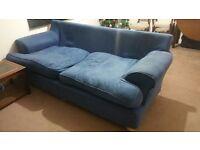 3 Seater Fabric Sofa - HOUSE CLEARANCE