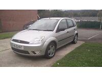 2002 Ford Fiesta Zetec 1.4l