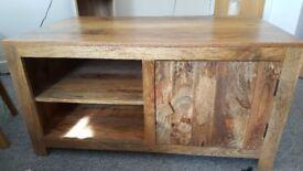 Oak furniture land tv unit/stand