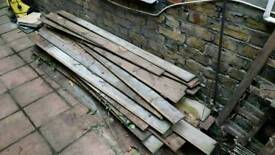 Free fence pailings / boards