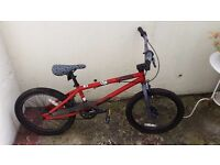 Mongoose BMX Bike, almost perfect condition, steel frame, red