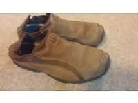 Timberland Brown Leather Trekking Walking Shoes Mens UK 8.5