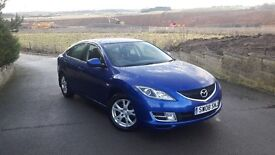 GOOD VALUE CAR 08 REG MAZDA 6 TS