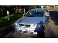 Vauxhall Astra Comfort Full Vauxhall Service History 2002 Superb Condition THROUGHOUT!!