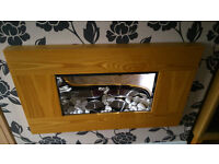 real flame gel fire and surround