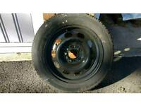 Set of 4 BMW 1 Series Continental Winter Wheels