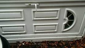 Front/ back security door