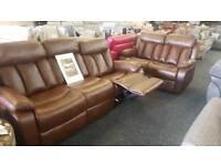 New Reclining Sofa sets.. was £1850